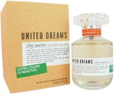 Benetton United Dreams Stay Positive Eau De Toilette Spray for Women, 2.7-Ounce