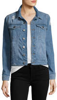 DL1961 Premium Denim Maddox Boyfriend Jean Jacket, Sunwashed