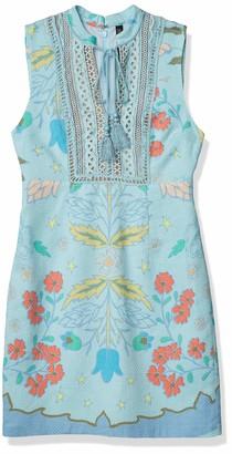 Plenty by Tracy Reese Women's Lace Inset Shift Dress