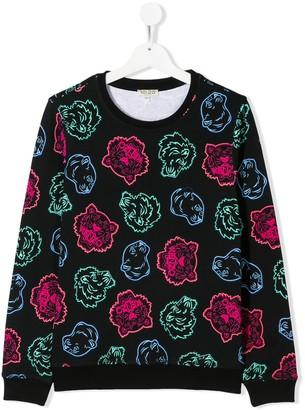 Kenzo TEEN multi-icon sweatshirt