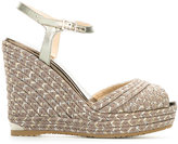 Jimmy Choo Perla 120 sandals - women - Patent Leather/Foam Rubber/Metallized Polyamide - 38