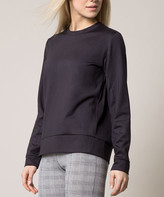 MPG Women's Sweatshirts and Hoodies 1401_Black - Black Bustle Sweatshirt - Women