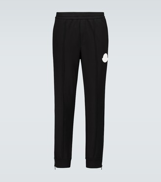 Moncler Cotton trackpants with logo