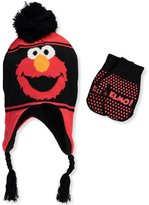 Sesame Street Infant / Toddler's Elmo Hat and Mitten Winter Set, Black