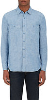 Nlst Men's Naval Cotton Shirt