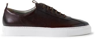 Grenson Full-Grain Leather Sneakers