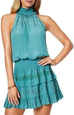 Ramy Brook Gari Ruffled A-Line Dress