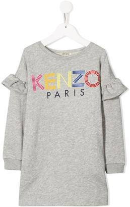 Kenzo Kids Logo Sweater Dress