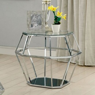 Everly Quinn Aguiar Contemporary End Table