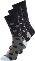 Pier One 3 Pack Socks Dark Blue/dark Grey