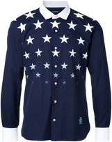 GUILD PRIME stars print shirt - men - Cotton - 1