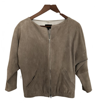 STOULS Beige Suede Leather jackets