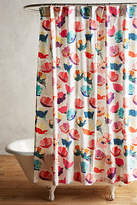 Anthropologie Magnolia Shower Curtain