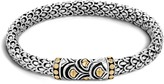 John Hardy Women's Legends Naga 6MM Station Bracelet in Sterling Silver and 18K Gold