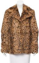Diane von Furstenberg Jessica Fur Coat