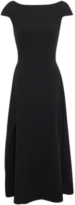 Esteban Cortazar Open-back Jersey Midi Dress