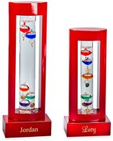 Wood Encased Galileo Thermometer in Rosewood