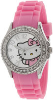 Hello Kitty Crystal-Accent Watch