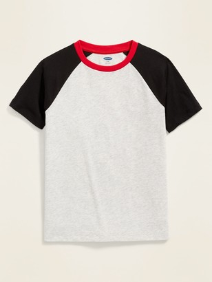 Old Navy Softest Color-Block Raglan Tee for Boys