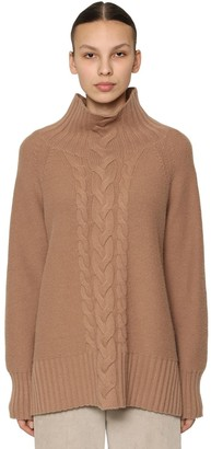 Wool & Cashmere Cable Knit Sweater