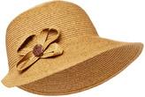 Boardwalk Style Women's Sunhats DK - Dark Natural UPF 50+ Tweed Sunhat