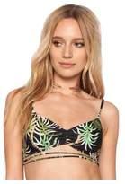 Beach Riot Hibiscus Bikini Top