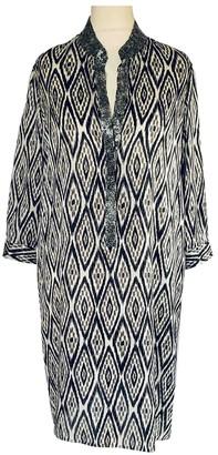 MARIE FRANCE VAN DAMME Black Silk Dress for Women