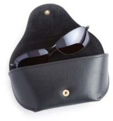 Royce New York Suede Lined Sunglasses Carrying Case