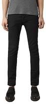 AllSaints Crow Cigarette Skinny Jeans, Jet Black