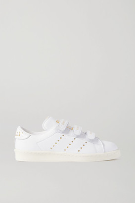 adidas Human Made Printed Leather Sneakers - White