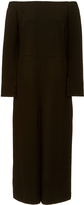 Tibi Off Shoulder Culotte Jumpsuit