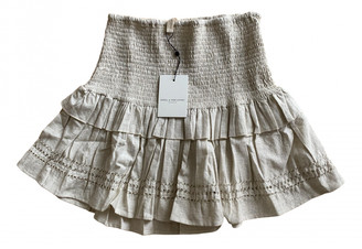Spell & The Gypsy Collective Beige Cotton Skirt for Women