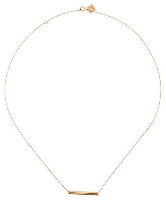Ginette bar necklace