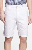 Peter Millar Men's 'Winston' Washed Twill Flat Front Shorts