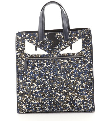 Fendi Monster Tote Printed Nylon