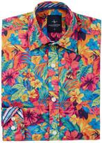Tailorbyrd Woven Floral Print Shirt (Big Boys)