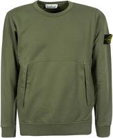 Stone Island Front Slit Pocket Detail Sweatshirt