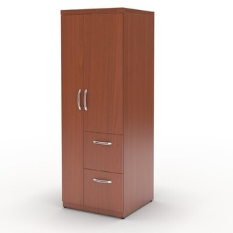 Umstead Armoire Symple Stuff Finish: Cherry
