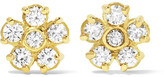Jennifer Meyer 18-karat Gold Diamond Earrings - one size