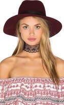 Janessa Leone Amara Hat in Wine. - size S (also in )