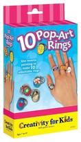 Creativity For Kids Mini Kit Pop Art Rings