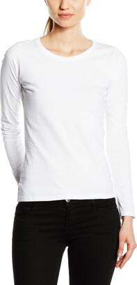 Fruit of the Loom Women's T-Shirt - White - XL