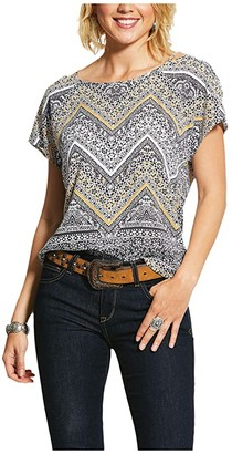 Ariat Janice Top (Multi Print) Women's Clothing