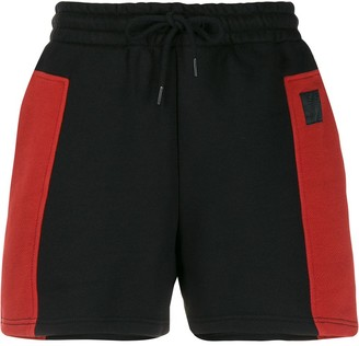 McQ Colour-Block Drawstring Shorts