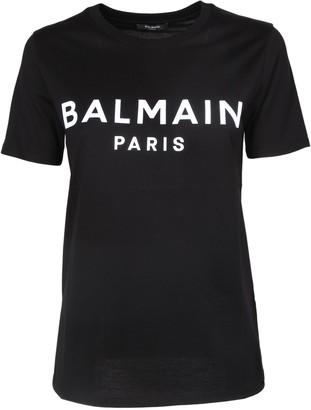 Balmain Logo Crewneck T-Shirt