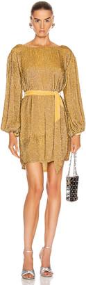 retrofete Grace Dress in Gold | FWRD