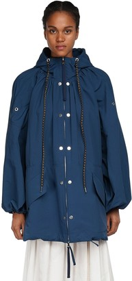 MONCLER GENIUS Amaranth Nylon Jacket