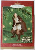 Star Wars Hallmark Keepsake Ornaments- Qui-gon Jinn