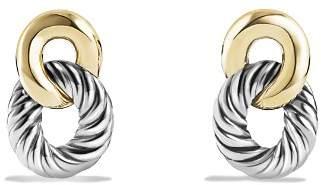 David Yurman Belmont Drop Earrings with 18K Gold