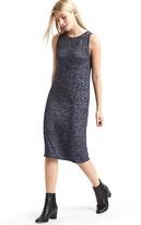 Gap Softspun marled midi dress